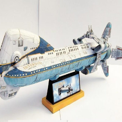 Papercraft Colonial One - Battlestar Galactica