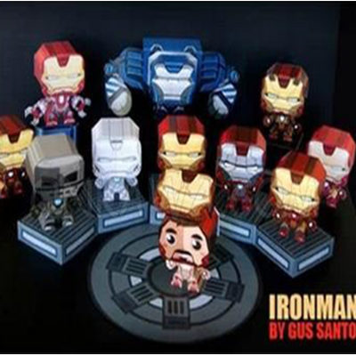 Papercraft Iron Man