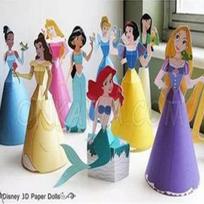 Papercraft PRICESAS DISNEY