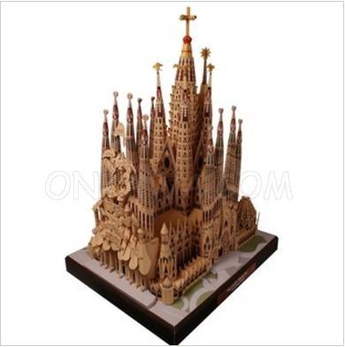 Papercraft Sagrada Familia