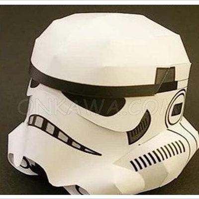 Papercraft casco soldado imperial