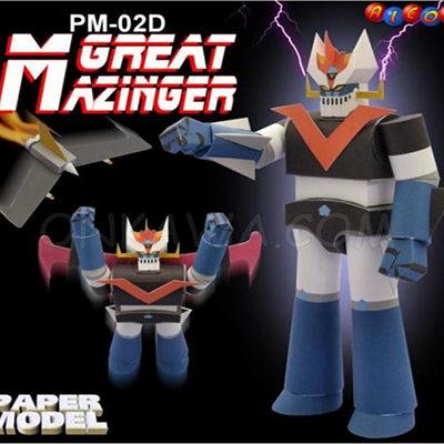 Papercraft mazinger z