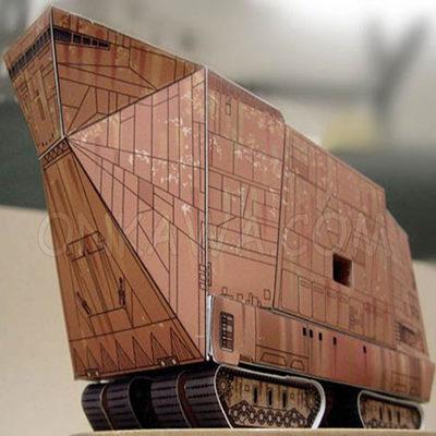 Papercraft sandcrawler