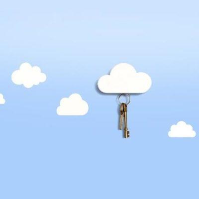 Nube imán llaves