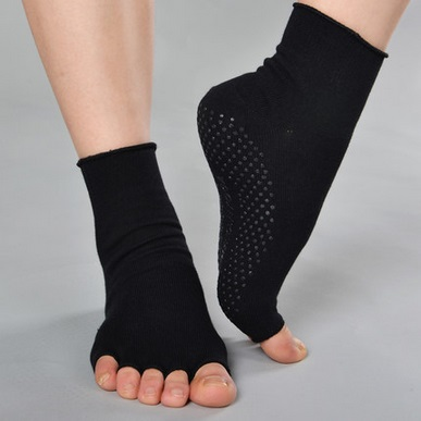 Calcetines yoga sin dedos