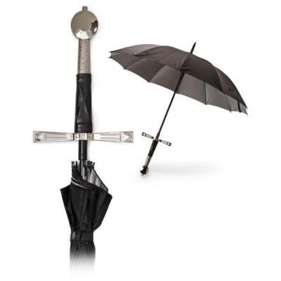 Paraguas espada medieval