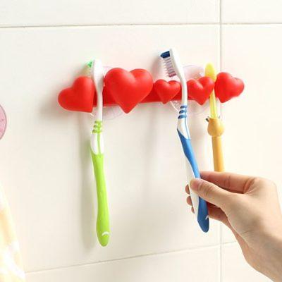 Soporte para guardar cepillos de dientes