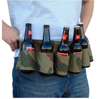 cinturón cervezas
