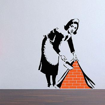Vinilo Sirvienta Banksy