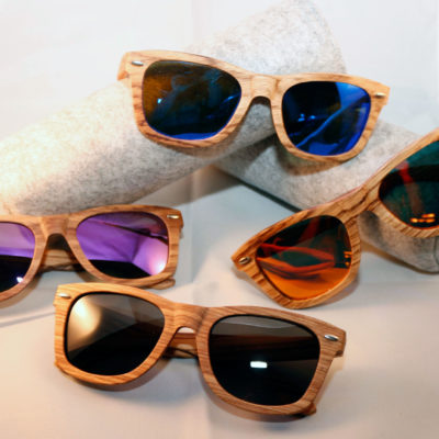 gafas de sol de madera matsu